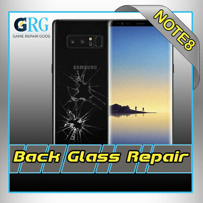 Samsung Galaxy Note 8 Cracked Back Glass Repair Replacement Mail In Service