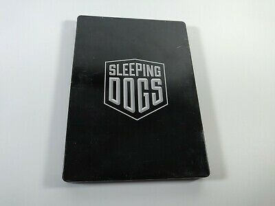 Sleeping Dogs Collectible Steelbook Case Only G1