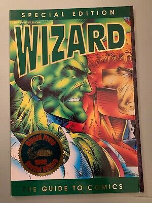 Wizard Magazine Special Edition Sdcc 1992 Signed X3 At Sdcc Spawn