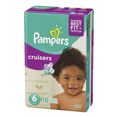Pampers Cruisers Active Fit Diapers, Size 6, 16 Ct