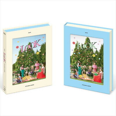 Apink - Look (9th Mini Album) CD+Photocards+Post Card+Paper Stand+Sticker SEALED
