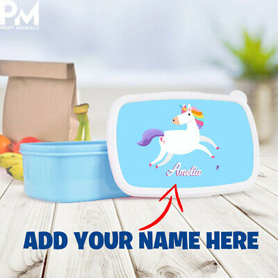 Childrens Kids Lunch Bag Cool School Unicorn Gift Insulated bags PERSONALISED