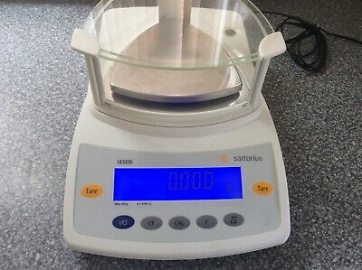 Sartorius LE323S Analytical Balance Scale.
