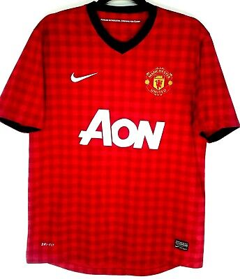 "Manchester United Shirt Football Home 2012/2013 Large L 42"" - 44"" 11/12 Man Utd"