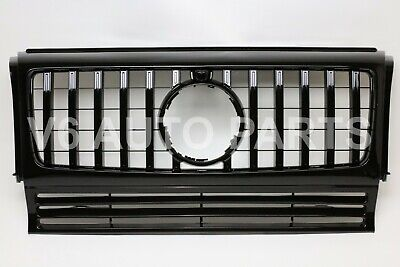 FRONT BUMPER GRILLE FOR 1990-2018 BENZ G-CLASS W463 WAGON G500 G550 GT-R AMG
