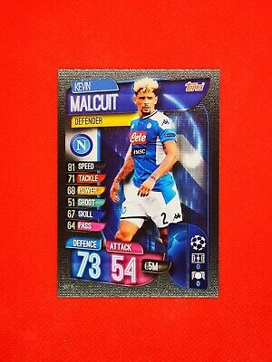 Carte card panini topps match attax 2019 2020 champions league KEVIN MALCUIT