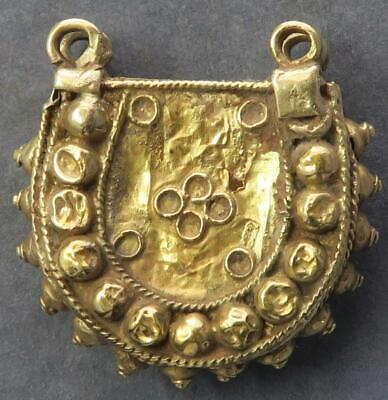 Byzantine Gold ear ring 10th-14th century 6.84g interesting antiquity