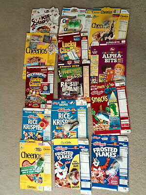 Cereal Boxes with Premiums