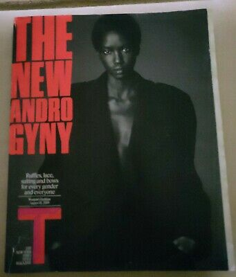 NEW YORK TIMES STYLE MAGAZINE, The New Androgyny