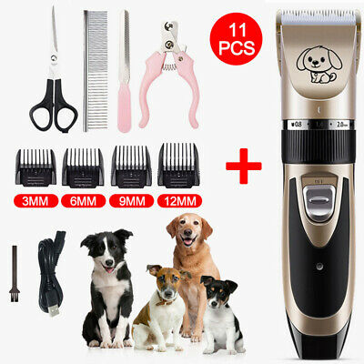 Electric Trimmer Shaver Razor Grooming Quiet Clipper For Animal Pet Dog Cat Hair