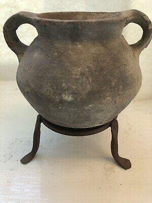"Holy Land Herodian Period ""time of Jesus"" Terracotta Cooking Pot 60BC-100AD COA"