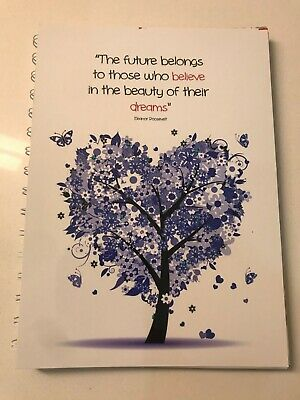 2020-2021 diary Purple Tree with quote A5 One week to page (see pics)