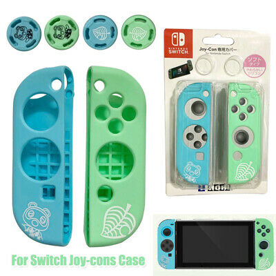 Animal Crossing Silicone Case Shell Thumb Caps for Nintendo Switch Joy-Con