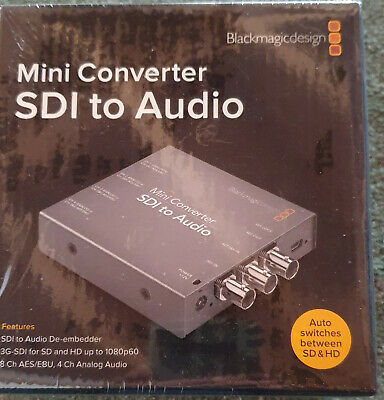 Blackmagicdesign Mini Converter SDI to Audio De-Embedder