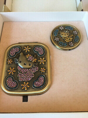 BRAND NEW Hello Kitty Compact Mirror & Handbag Purse Table Hook