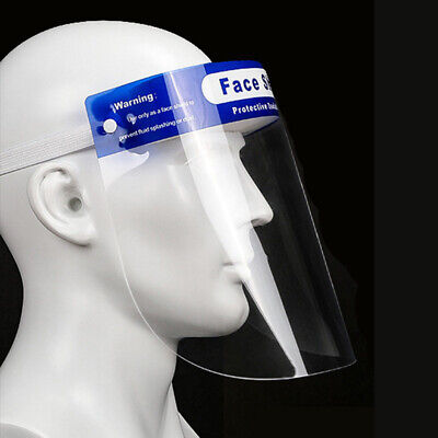 SAFETY FACE SHIELD With CLEAR FLIP-UP VISOR Antifogging Eye Face Cover
