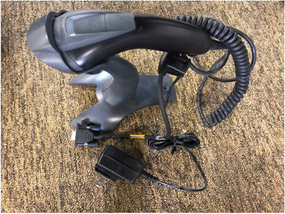 Honeywell Barcode Scanner with Stand, Cords and VGA Connector