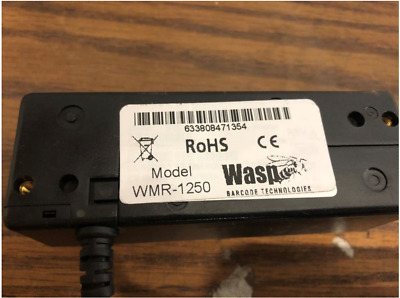 Wasp Credit Card Scanners With USB Cord Model WMR-1250