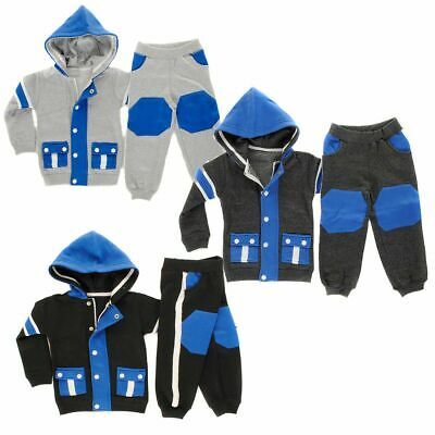 Baby Boy Jog Suit Infant Tracksuit Hooded Top Pant  Baby Boys, Girls Size