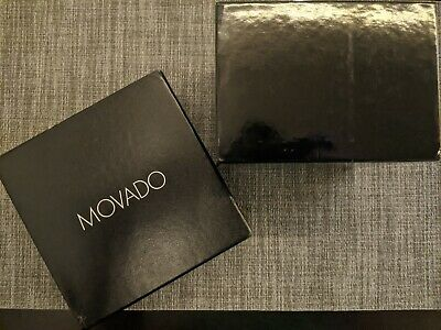 Movado Watch Box - Black