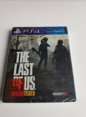 Brand New & Sealed - The Last Of Us Remastered Steelbook Playstation Ps4