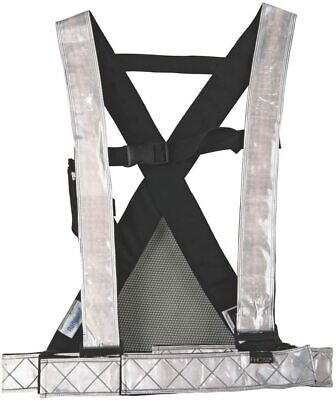 FHOSS Filux Self Illuminated Hi Viz Safety Harness New XL/XXL/XXXL
