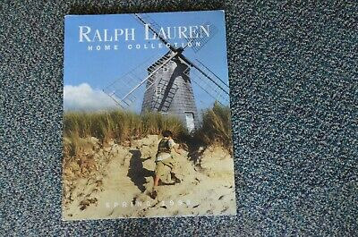 1998 Ralph Lauren Home Collection Catalog Seaside Cottage Africa Canyon Polo