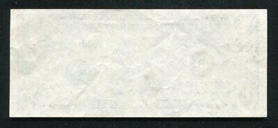 """1995 $1 One Dollar Frn Federal Reserve Note """"Missing Back Printing Error"""" Xf"""