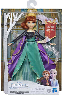 Frozen 2 Finale Singing Doll Elsa or Anna (Choose Character)