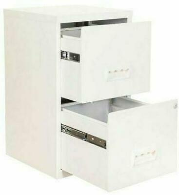 I000194 Trexus Wooden Filing Cabinet 500mm 4 Drawers White