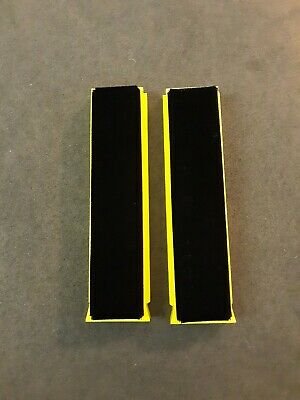NEW 1 Pair Spin-Clean Record Washer System MKII-Replacement Yellow Brushes
