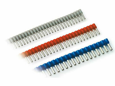 Wire Ferrules 0, 5mm ² - 16mm ² Uninsulated Ein / Two-Wire - Various Quantities