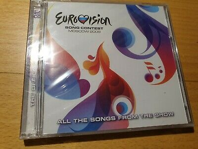 EUROVISION SONG CONTEST MOSCOW 2009 - ALL THE SONGS FROM SHOW 2CD sealed