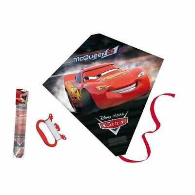 Disney pixar Kite CARS plastic and fiberglass 58.5cm x 56cm gtreat outdoor fun
