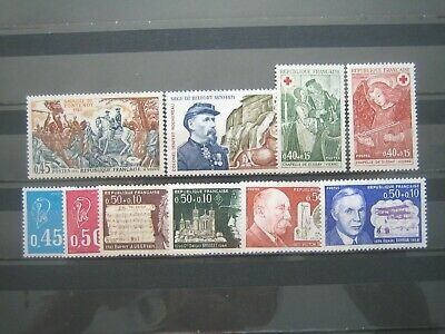 France- Lot Timbres  Annee  1970 - 1971 Neuf** Sans Trace De Charniere