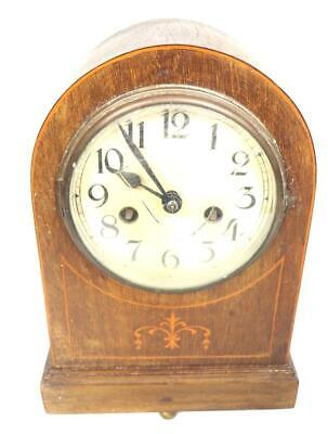 German Arched top Mantel Carriage Clock Mechanical Wind Spares Or Repairs