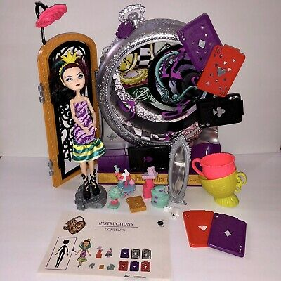 Ever After High Way Too Wonderland Playset with Raven Queen Doll & Accessories