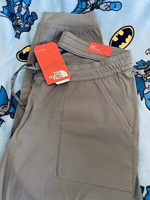 THE NORTH FACE JERSEY PANT PANTS TNF Medium Grey Heather Womens SIZE XL NWT