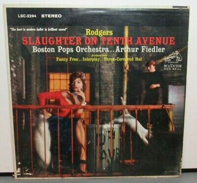 Rodgers Slaughter On Tenth Avenue (Vg) Lsc-2294 Lp Vinyl Record