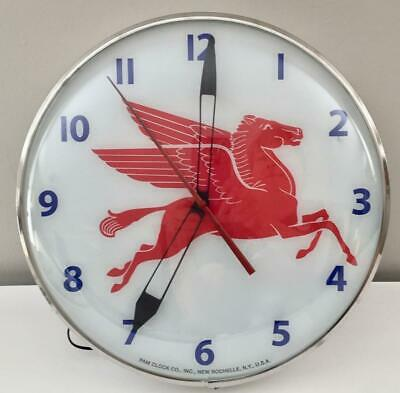 Pam Style Lighted Advertising Mobil Pegasus Clock
