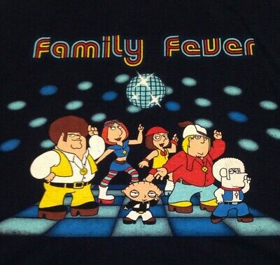 The Family Guy Cast as DC Super-Heroes Fighting T-Shirt