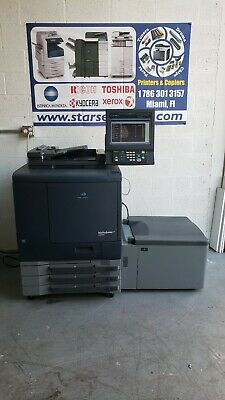 Konica Minolta Bizhub Pro C6000L Copier Printer Scanner ,LCT, only 726K Total