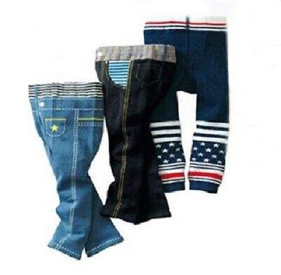Baby Toddler Boy Leg Warmer Long Pants Bottom Trousers Winter Clothes Pack of 3