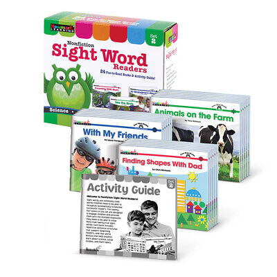 Newmark Learning Nonfiction Sight Word Readers St 2 4665