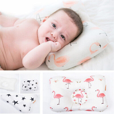 Baby Infant Cushion Newborn Anti Flat Head Syndrome Neck Support Pillow YI