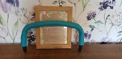 Icandy peach main seat bumper bar COVER ONLY Teal Turquoise