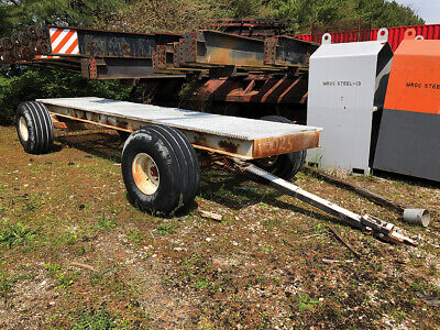 Custom Fabricated Trailer w/ Metal Tread Deck