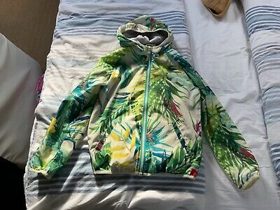 New Next Girl Lined Shower Proof Jacket size 10 yrs