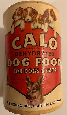 CALO Dehydrated Dog Food 1930 Unopened Sealed NOS Carton Full