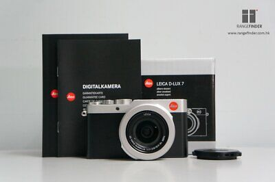 Brand NEW Leica D-Lux 7 Compact Digital Camera - Silver (19115)